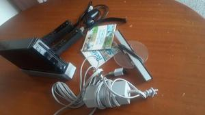 Nintendo Wii Negro En Su Caja