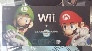 Wii Negro Edion Mario Kart