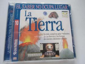 2 Discos Enciclopedia Espacio, Tierra. Originales Importados