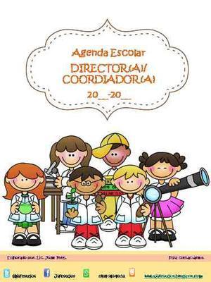 Agenda Administrativa Para El Director/coordinador -editable