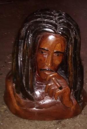 Bob Marley Cofre De Madera
