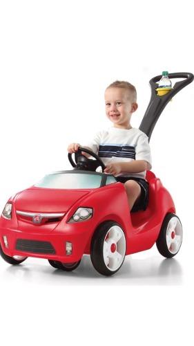 Carro Step 2 Red Carro Para Niños Con Mango Para Traslado