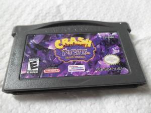 Crash Purple Juego Game Boy Advance