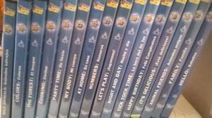 Curso De Ingles Magic English De Disney Cds Para Dvdv