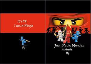 Forros Para Cuadernos De Colegio Personalizados