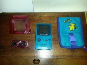 Game Boy Color Combo Con Juegos, Estuche Y Accesorios