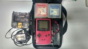 Game Boy Color + Juegos Y Mas