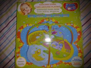 Gimnasio Para Bebés Con Móvil Musical. Marca Biba Toys.