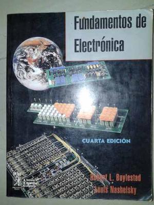 Libro Fundamentos De Electrónica. 4ta Edición