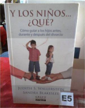 Libro Y Los Niños Que - Hijos En El Divorcio