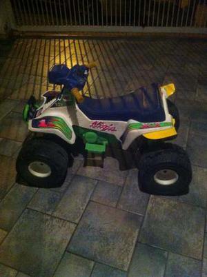 Moto Eléctrica De 4 Ruedas Para Niños.