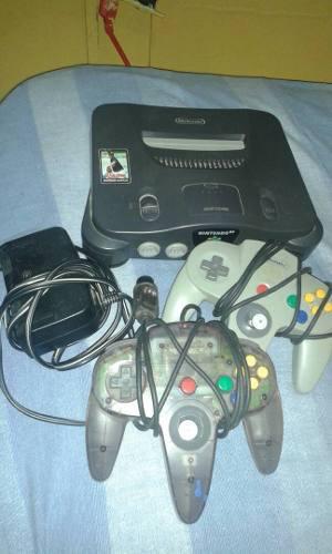 Nintendo 64 + 2 Controles + 3 Juegos