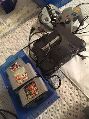 Nintendo 64 Dos Controles 7 Juegos