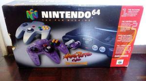 Nintendo 64 En Su Caja 2 Controles 2 Juegos
