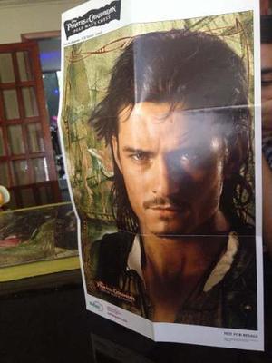 Postear De Los Piratas Del Caribe Original De Disney