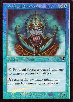 Prodigal Sorcerer (mtg) Cartas Magic The Gathering