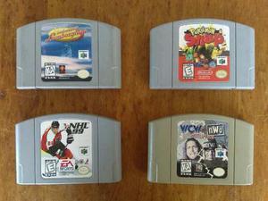 Se Venden Juegos De Nintendo 64.