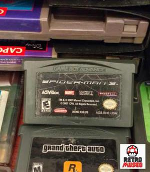 Spiderman 3 Para Game Boy Advance