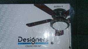 Ventilador De Techo Designers 91cm 36