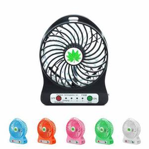 Ventilador Portatil Recargable Usb Variados Colores
