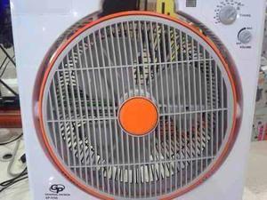 Ventilador Recargable De 14' Lampara Led Y Radio Am/fm Ofert