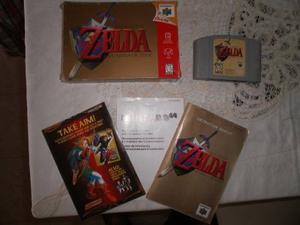 Zelda Ocarina Del Tiempo N64
