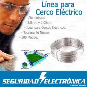 Cerco Electrico Aluminizado 300 Metros Bobina Con Envio