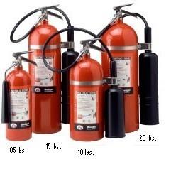 Extintor De 20 Y De 10 Libras Pqs Y Co2