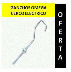Ganchos Omega Para Cerco Electrico Bolsa De 50 Unidades