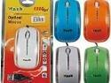 Mouse Optico Con Luz Led Usb Wash