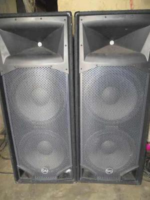 Par De Corneta Pasiva Sp4 Sound Barrier De  Wattss
