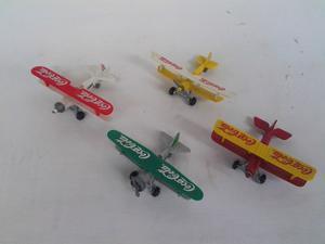 Aviones De Cocacola De Metal A Escala Coleccionables
