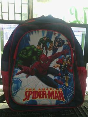 Bolso De Spiderman 3d Y Ben 10 3d