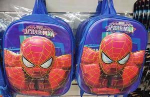 Bolsos Spiderman Morral Escolar Scars Capitan America