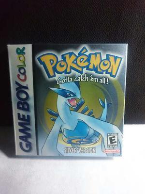 Caja Pokemon Silver En Perfecto Estado Como Nueva