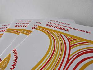 Libro Segundas Lecciones De Guitarra, Julio Sagrera.