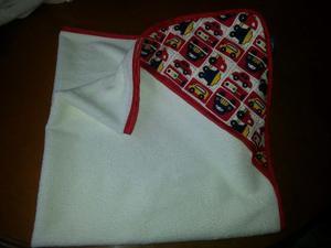 Paños (toallas)con Capucha Infantil.medidas