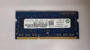 Vendo O Cambio Memoria Ram Ddr3 De 4gb Para Laptop
