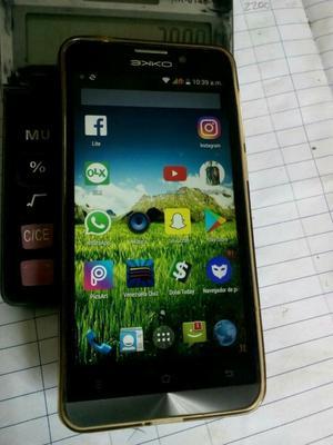se vende telefono android ekko m5 como nuevo