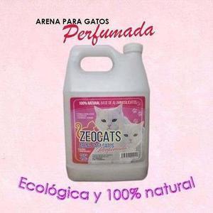 Arena Para Gatos Zeocats Perfumada