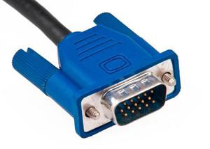Cable Monitor Super Vga 10 Metros 15 Pines Macho