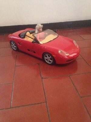 Carro Convertible Rojo De La Barbie (original Mattel)