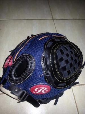 Guante Beisbol Robinson Derechos 10.5pulg. Cuero Y Nylon Jr