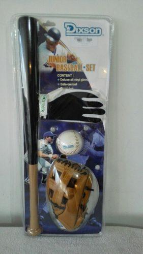 Kit Combo Beisbol 4 Piezas Dixson Con Envió Gratis