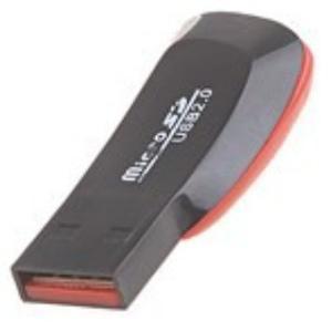 Lector De Tarjeta De Memoria Micro Sd A Usb 2.0 Adaptador