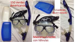Mascara Y Snorkel Para Buceo Oceanic