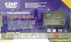Regulador De Voltaje 6 Tomas Cdp watts
