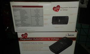 Regulador De Voltaje De 6 Tomas 110v Nuevos