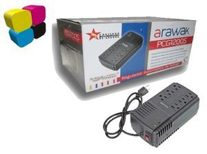 Regulador/protector De Voltaje Pcgs - Arawak 6 Entradas