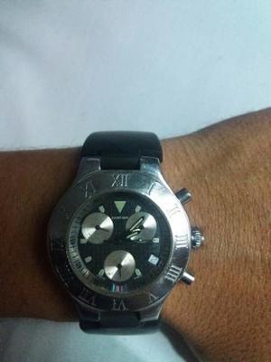 1293c140d26 Reloj cartier 21 chronoscaph usado dos correas